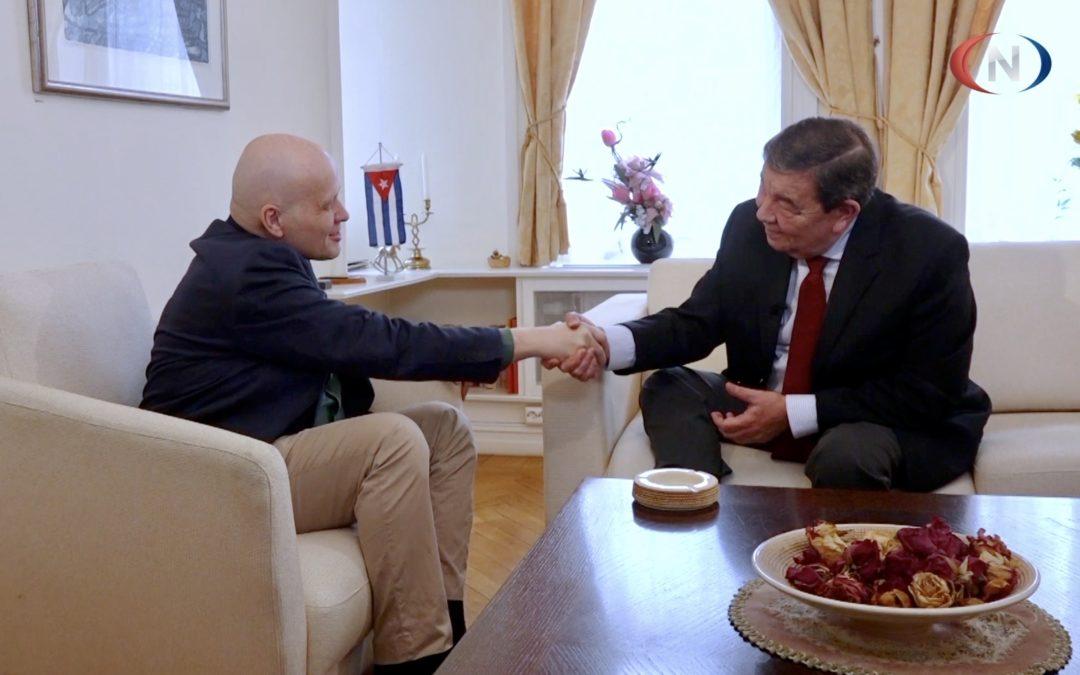 Oscar de los Reyes – the Ambassador of Cuba to Norway