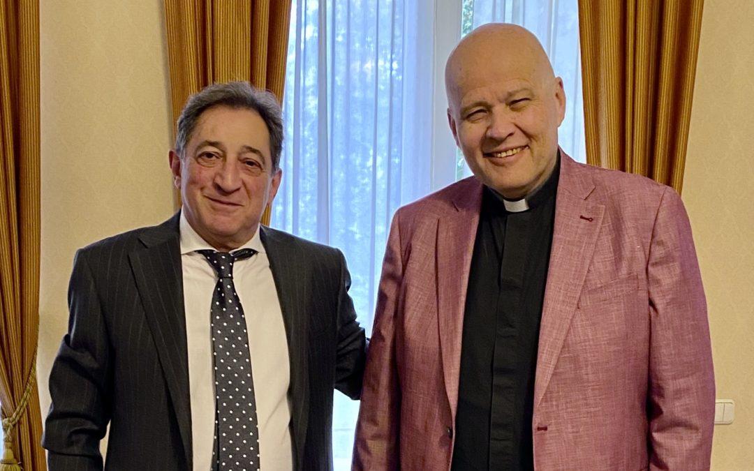Teymuraz Ramishvili – the Ambassador of Russia
